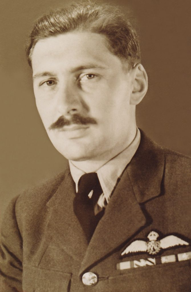 "Squadron Leader James Joseph ""Orange"" O'Meara DSO, DFC & Bar - Battle of Britain Spitfire Ace"